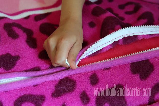 Zippy Sack zipper