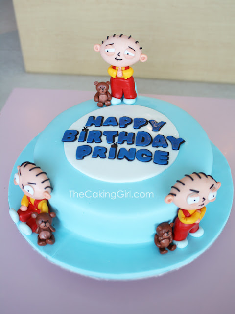 family guy stewie figurine cake