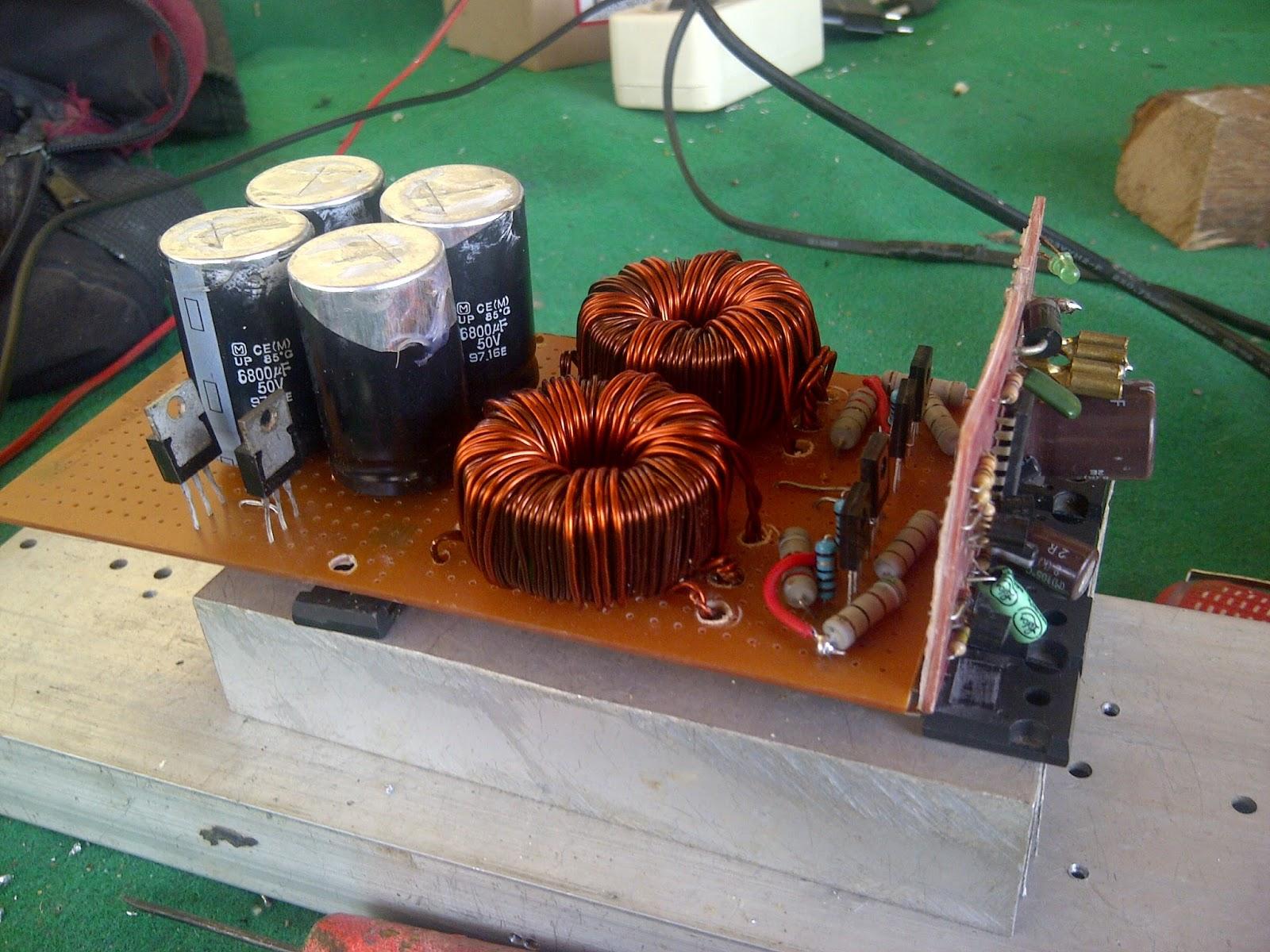 Inverter Audio Mobil Rakitan  Inverter Audio Mobil Rakitan