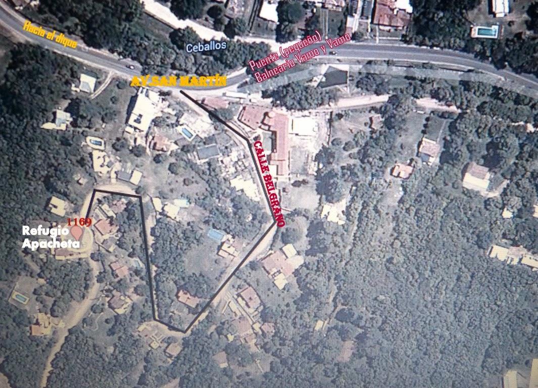 Ubicación de Refugio Apacheta