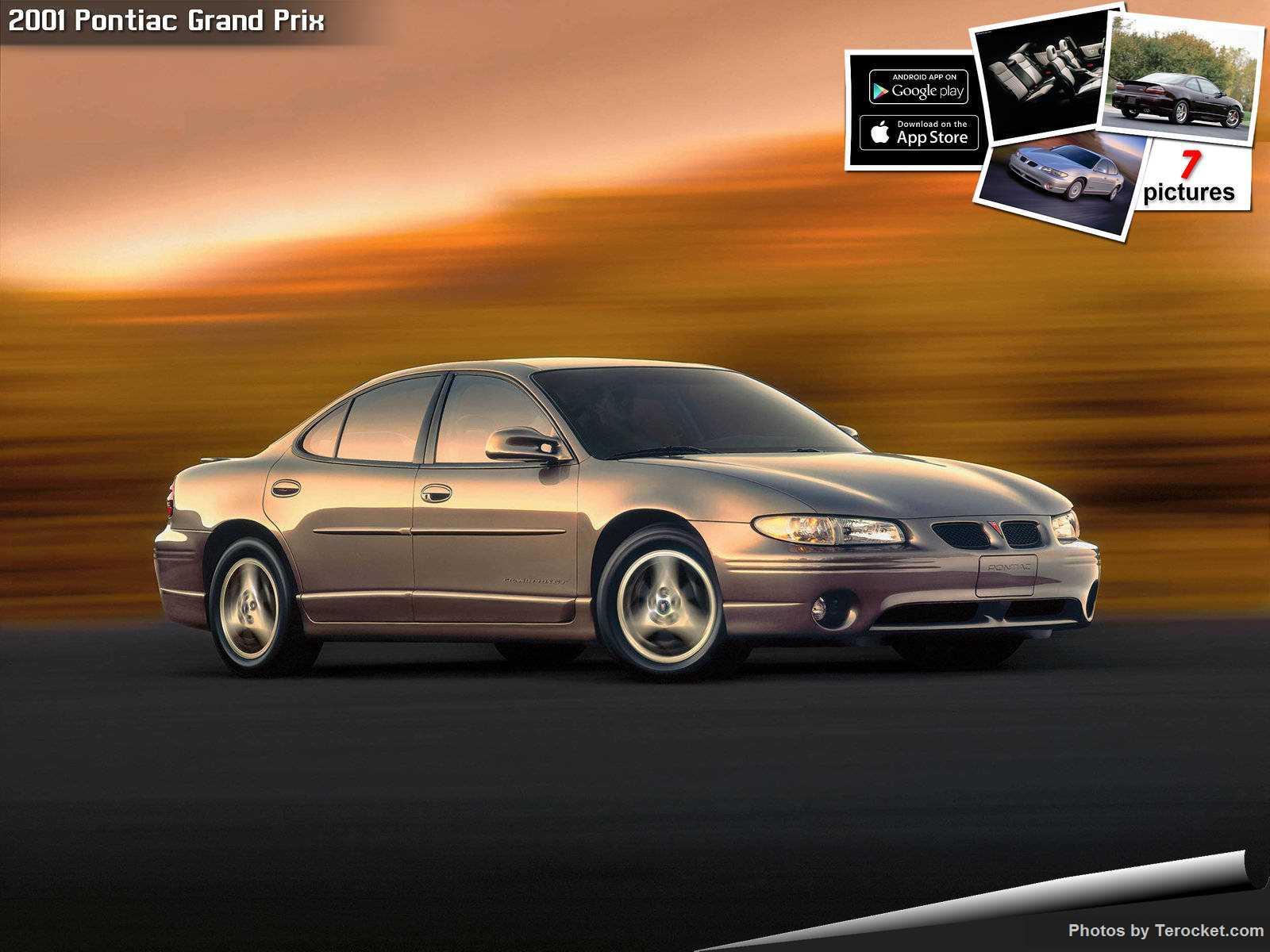 Hình ảnh xe ô tô Pontiac Grand Prix 2001 & nội ngoại thất