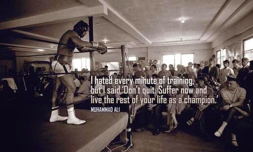 Boxing quotes for image gallery