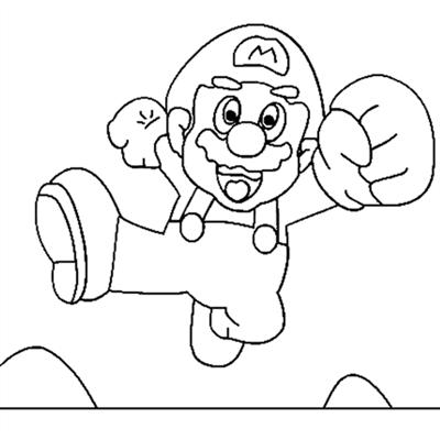 Mario Bros Coloring Pages | Team colors