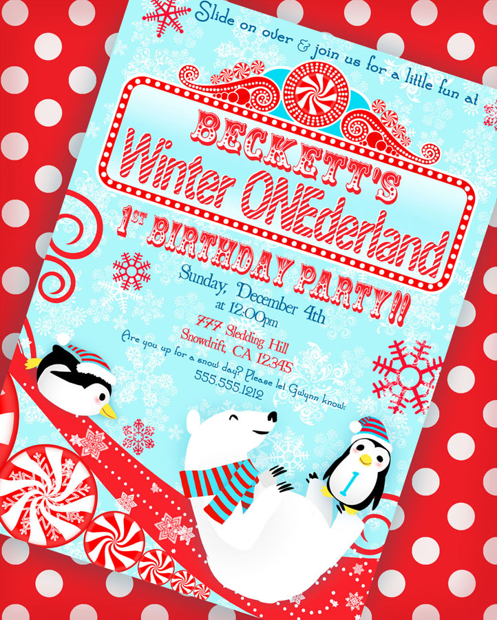 Karas Party Ideas Winter ONEderland Birthday Party Karas Party Ideas