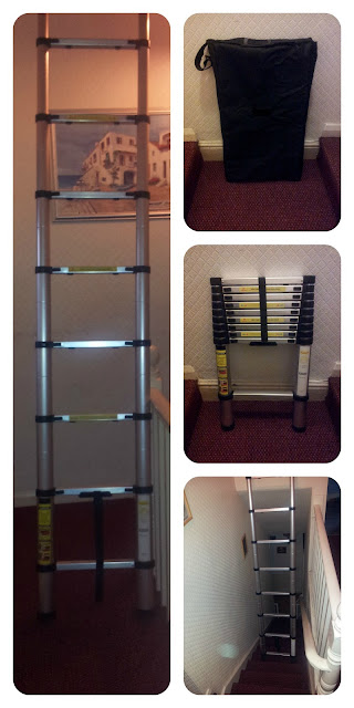 review, telescopic ladder, maplins,