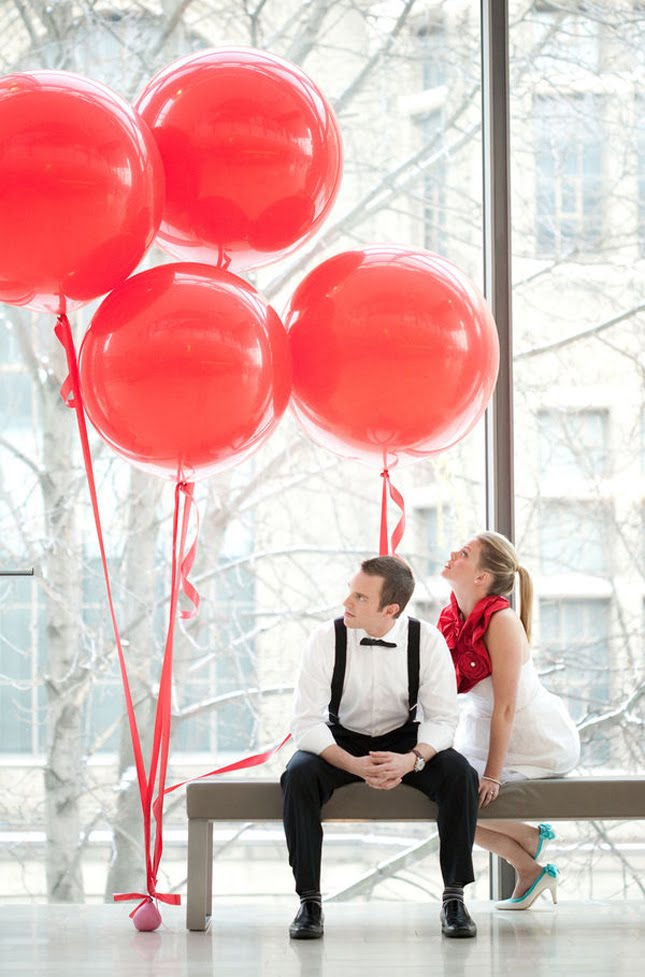 Wishahmon blog balloons weddings for Ballon wedding decoration