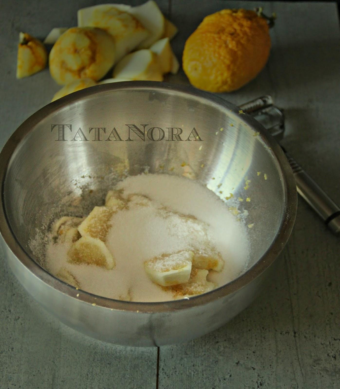TataNora: Marmellata di cedro perchè nella mia cucina non si butta ...