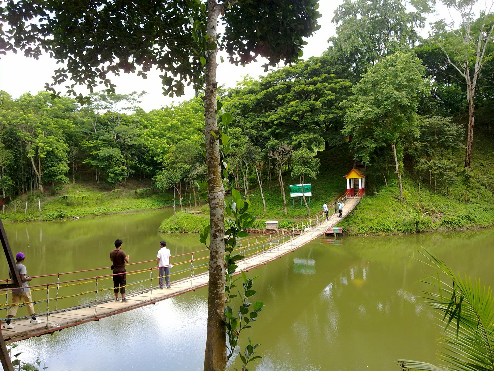Meghla lake