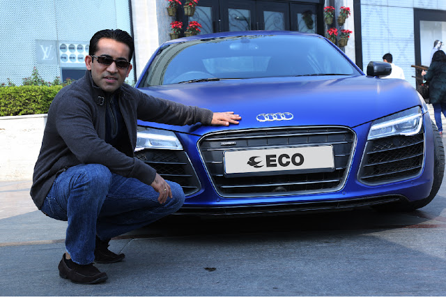 Audi R8 on ECO Rent A Car