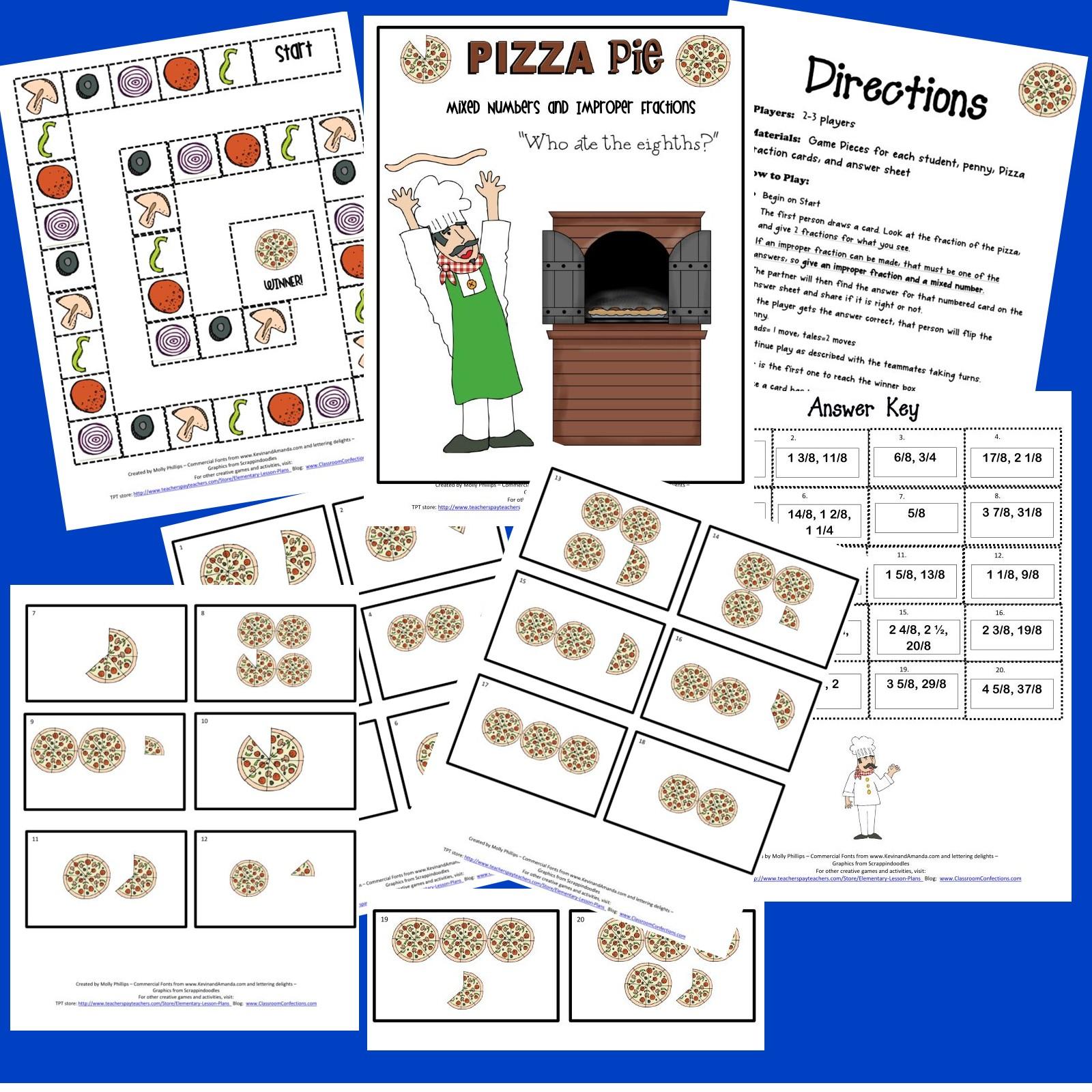 Pizza Fractions Worksheet pizza fraction worksheets pizza – Pizza Fraction Worksheet