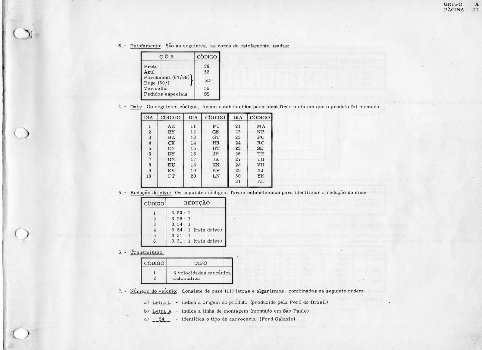 ford ipiranga  plaqueta de identifica u00c7 u00c3o ford galaxie 500