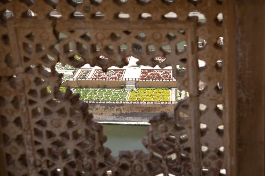 Jaipur-Amer-Fort-Garden