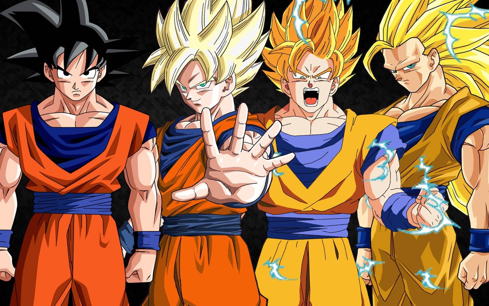Son Goku Transformações