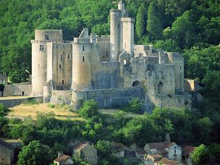 Bonaguil Lot Castle, France Wallpapers