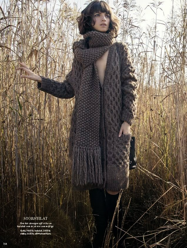 plAce models news: Rebeca Marcos for Elle Sweden