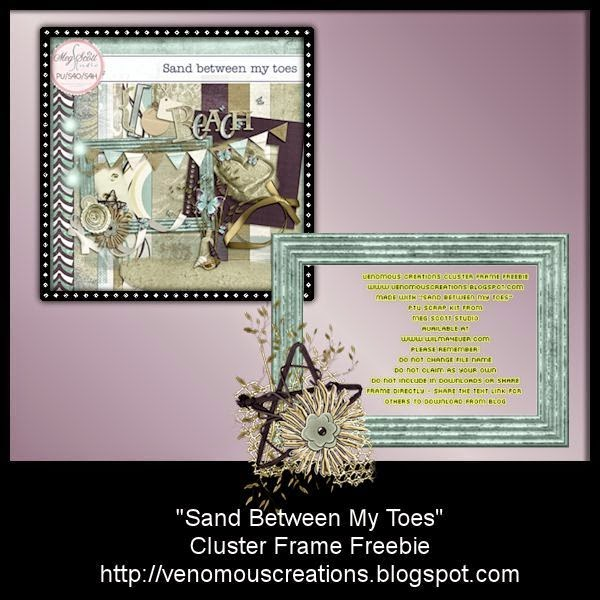 http://venomouscreations.blogspot.nl/2015/02/lo-cluster-frame-freebie-sand-between.html