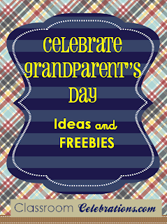 Grandparent's Day Classroom Celebrations