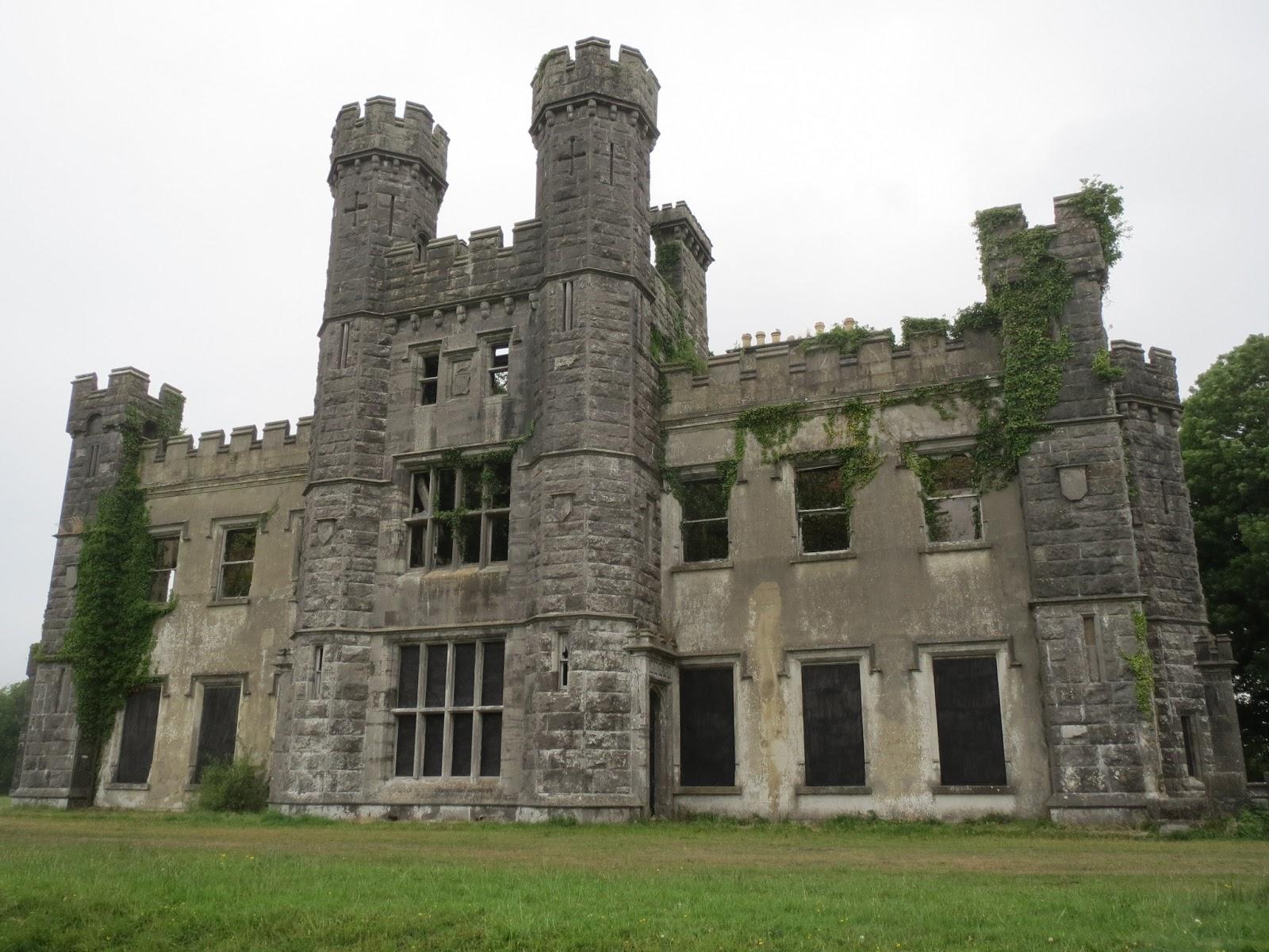 Lord Belmont In Northern Ireland Castle Saunderson