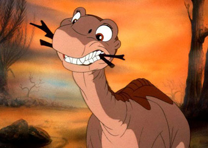 Une diff rence d 39 intention le petit dinosaure et la vall e freudienne - Petit pieds dinosaure ...
