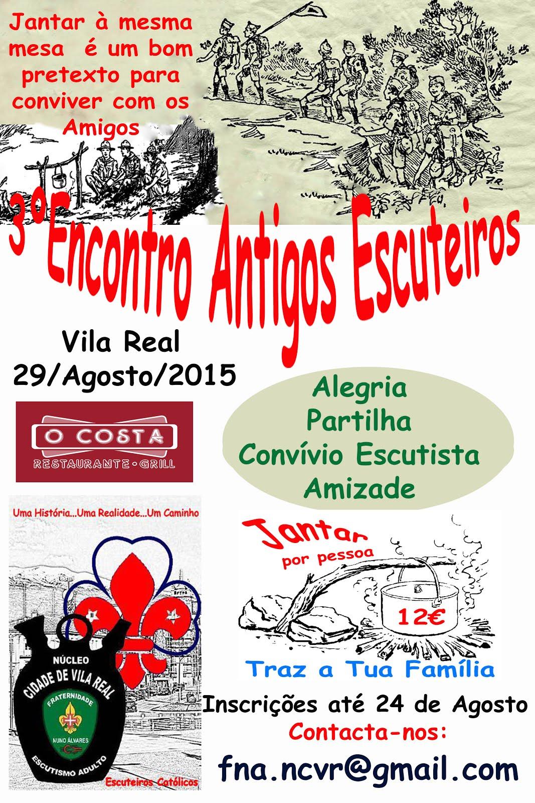 3ºENCONTRO ANTIGOS ESCUTEIROS