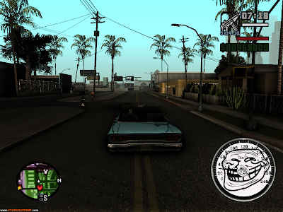 Velocímetro Troll Face Para GTA San Andreas
