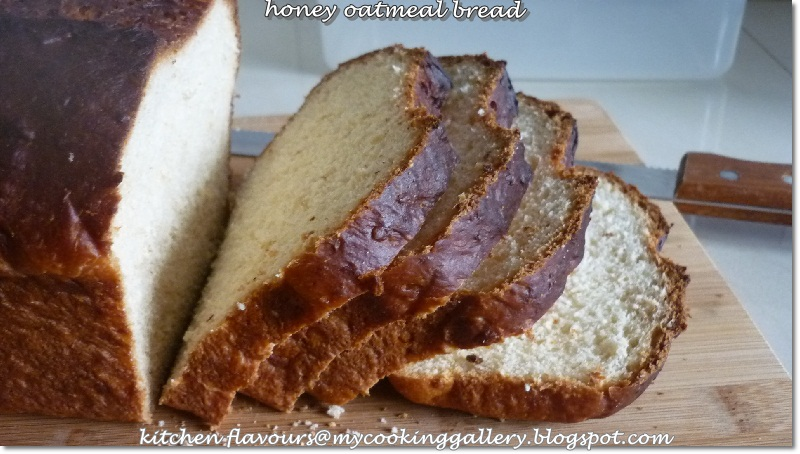 previous two breads this honey oatmeal bread is another winner