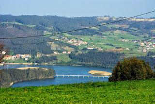 Pravia, Somáo, vista de la desembocadura del Nalón
