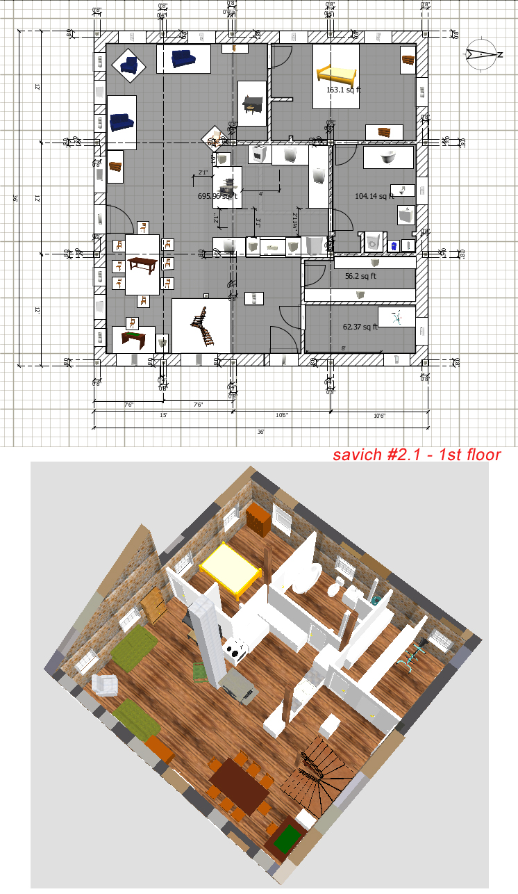 Stone table farm house plans the great unveiling for Apartment design considerations