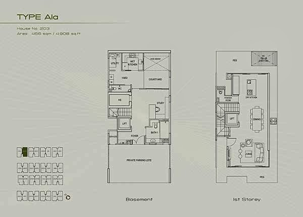 1st storey floor plans