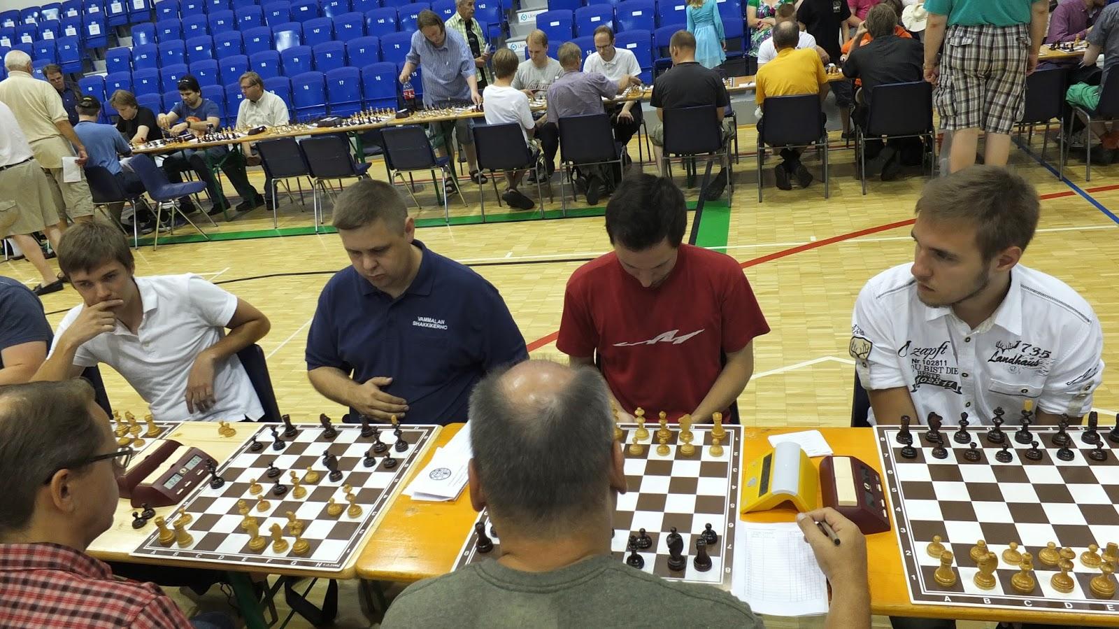 бланк записи шахматных партий