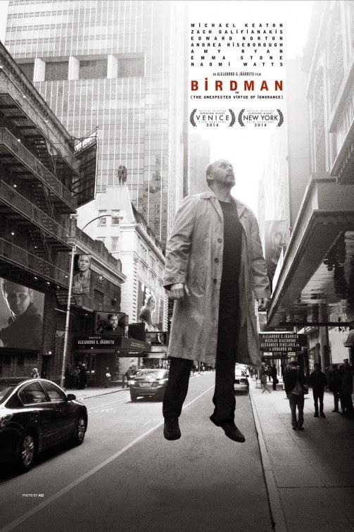 """Poster do filme """"Birdman"""""""