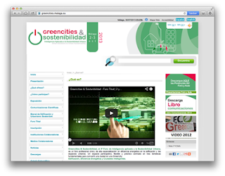 Web de Greencities & Sostenibilidad