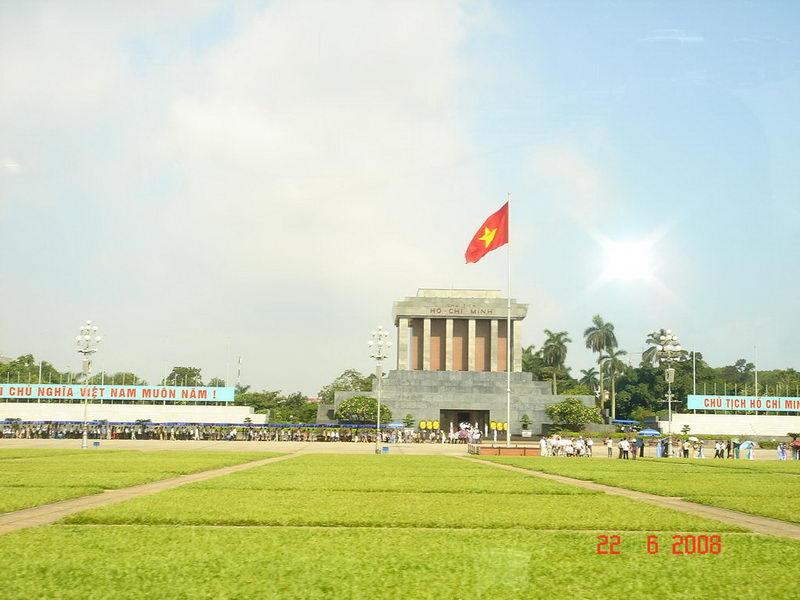 Lăng Bác ở quảng trường Ba Đình, Hà Nội