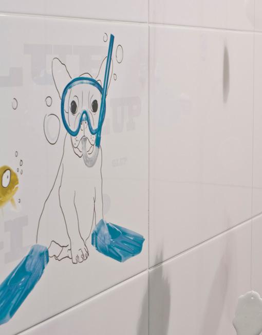 Azulejos Baño Fucsia:Nuevos decorados de Undefasa para baño y cocina ~ Reformas Guaita