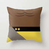 Star Trek The Next Generation - Pillow - Worf Pillow