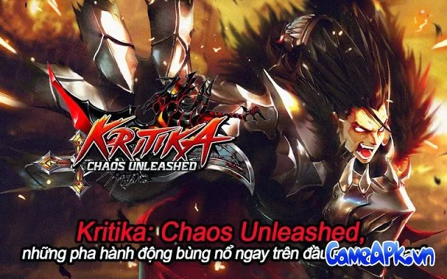 Kritika: Chaos Unleashed v2.2.2 hack full HP, MP, Giáp cho Android