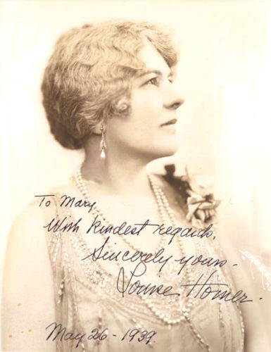 GREAT AMERICAN CONTRALTO LOUISE HOMER (1871 - 1947) CD