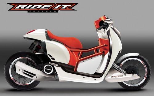 Photo Modifikasi Motor Honda Scoopy  New Modification