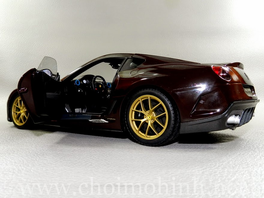 Ferrari 599 GTO Michael Mann 1:18 Hot Wheels door