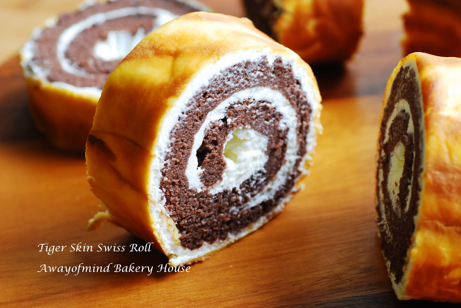 Tiger Skin Swiss Roll