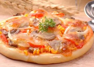 CARA MEMBUAT PIZZA TABUR JAMUR