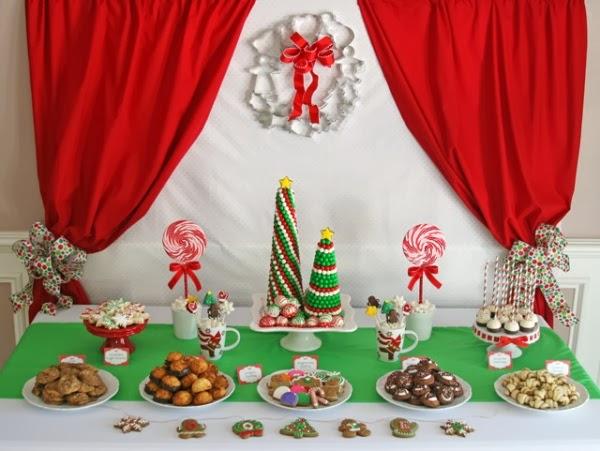 wedding in italy: Winter dessert buffet ideas