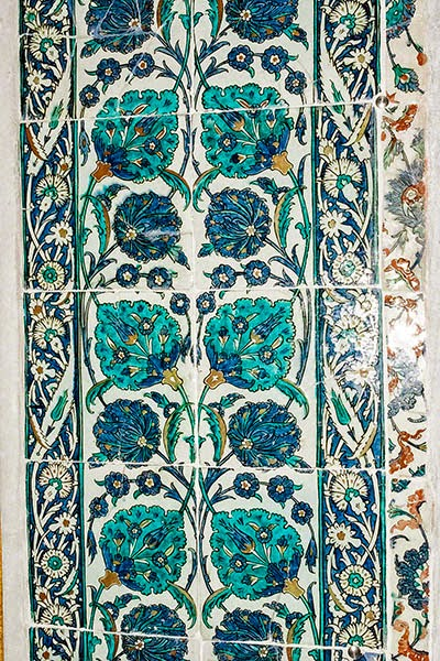 Topkapi Palace: Gorgeous Iznik Tiles