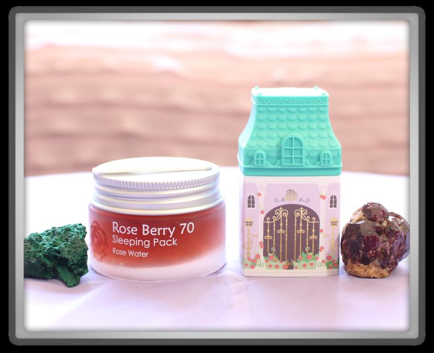 겟잇뷰티박스 by 미미박스 memebox Memebox special #48 Rose Edition unboxing review langsre berry sleeping pack Etude House hand cream forever