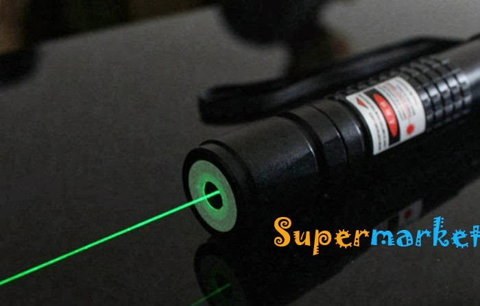 how to see a laser beam in daylight