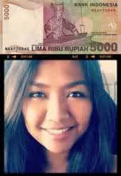 Tahukah Kamu Wanita yang Ada di Uang Kertas Rp 5.000 Itu adalah Natasha Annestessya