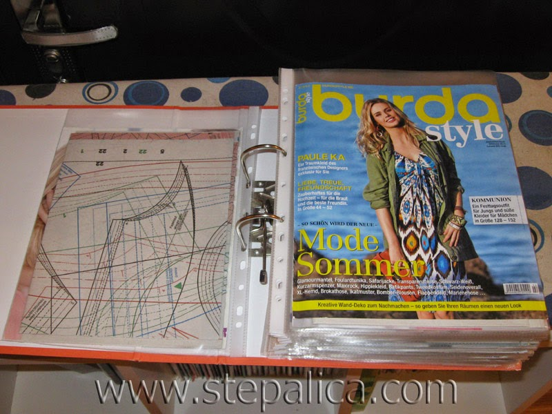 Stepalica: Burda Style pattern sheets