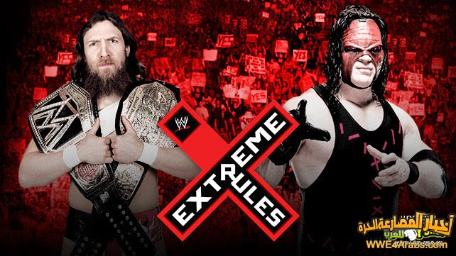 WWE WORLD HEAVYWEIGHT CHAMPION DANIEL BRYAN VS. KANE (EXTREME RULES MATCH)