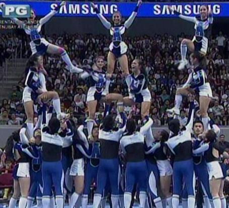 UAAP Cheerdance Competition 2013 - Ateneo Blue Babble Battalion