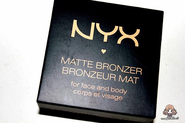 NYX Matte Bronzer in MBB 03